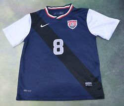 Nike Usa National Soccer Team Clint Dempsey 8 Jersey Size Youth 28.