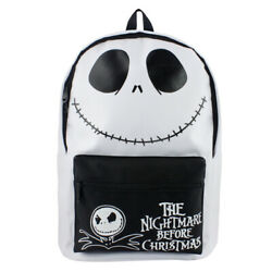 The Nightmare Before Christmas Backpack Boys Girls AdultSchool Bags Cosplay Prop $23.99