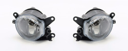 Left + Right Fog Lights For Audi A4 1995-2000 / A8 1996-2002
