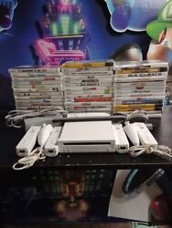 Nintendo Wii Console Gamecube 2 Or 4 Sets Authentic Remotes Same Day Shipping