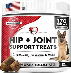 Glucosamine Chondroitin Soft Chews For Dogs With Msm Advanced Natural Hip