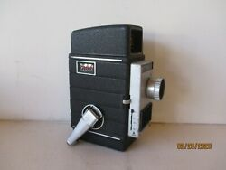 Vintage Bell And Howell Movie Camera W/case = 10mm -electronic Eye -free Shipping