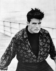 1986 Herb Ritts 16x20 Vintage Photo Gravure Tom Cruise Coney Island Movie Actor