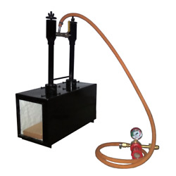 Double Burner Gas Propane Forge Furnace Blacksmith Knife Making Farriers