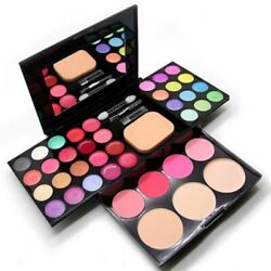 39 Colors Pro Makeup Eyeshadow Palette Lip Gloss Powder Blush Cosmetic Set Kit $15.19