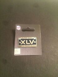 Super Bowl Xlv License Plate Pin - New - North Texas 02.06.11 Packers Steelers