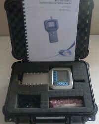 Hach Metone Hhpc-6 Portable Laser Particle Counter Analyser Kit + Caseetc.