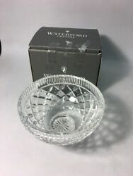 Waterford Crystal 6 Vinch Footed Bowl Retired Killeen Vintage Irish Candy Dish