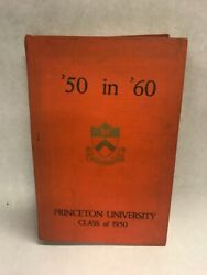 1950 Princeton University Vintage Pictures Text 50 In 60 10 Year Reunion