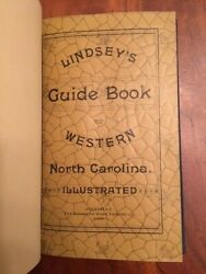 Rare 1890 Guide Book For Western North Carolina Asheville Nc Mountains Images