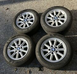 Bmw Style 41 E36 Wheel And Tire Set 15 Full Size 325 328 323 318 5x120 93-99 Oem