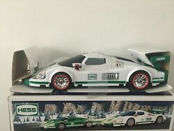 Hess 2009 Collectible Toy Truck Race Car And Racer W/ Lights And Sounds