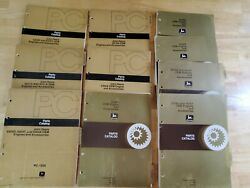 Lot Of 10 John Deere Parts Catalogs Oem Engines And Accessories
