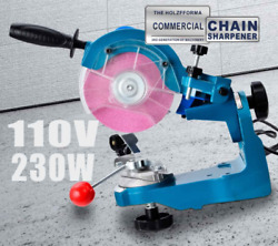 Us Electric Chainsaw Chain Sharpener Grinder 110v 230w Wt Grinding Wheels Tools