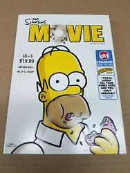 The Simpsons Movie Dvd Circuit City Exclusive Springfield Map New