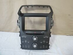 ✅ 12 2012 Ford Explorer Media Equipment Climate Control Panel Oem Bb5t-18a802-bl