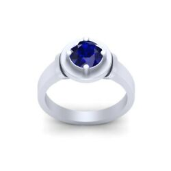 Blue Sapphire Engagement Ring Womens Star Wars Robot Droid R2d2 Inspired Ring