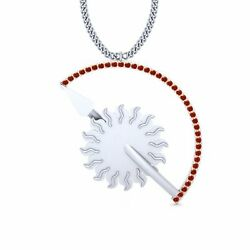 White Gold Game Of Thrones House Martell Pendant Necklace Game Of Throne Jewelry