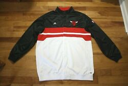 Chicago Bulls Non Game Used Team Issued Warm Up Jacket Size 2xl+2
