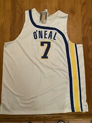 Jermaine O'neal Hardwood Classics Pacers Reebok Authentic Jersey
