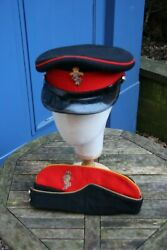 British Officer Royal Electrical And Mechanical Engineers Side Cap/ Dress Caps