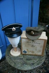 British Officer Royal Corps Of Transport Service Dress Cap And No1 Dress Caps