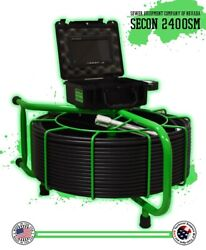250and039 Secon-2400sm Sewer Inspection Usa Made Camera Snake 512hz Sonde For 3-10