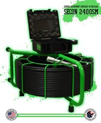 300and039 Secon-2400sm Sewer Inspection Usa Made Camera Snake 512hz Sonde For 3-10