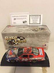 Race Fans 20 Home Depot / Independence Day 2003 124 Tony Stewart Autographed
