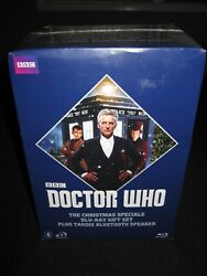 Doctor Who: Christmas Specials Giftset with Tardis Bluetooth Speakers Blu-ray