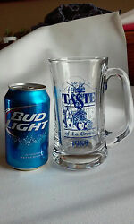 Case Of 12 Great Taste Of The La Crosse Beer Glass Mugs 15oz. Heavy Usa Nos