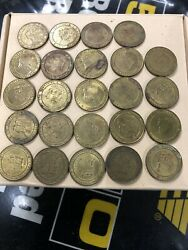 New Hampshire Highways Department Toll Token - Old Man Of The Mountain Lot Of 24
