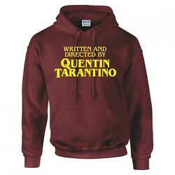 Movie Humour Written And Directed By Quentin Tarantino Hoodie