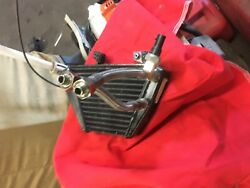 Ducati Oil Cooler W/ Lines Used Great Condition 848 2010