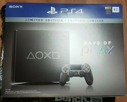 Sony Playstation 4 Slim Days Of Play Limited Edition 1tb Video Game Console