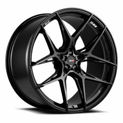 20 Savini Sv-f5 Gloss Black 20x8.5 20x9 Concave Wheels Rims Fits Honda Accord