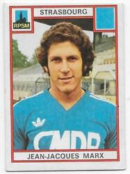 Vignette Panini Collection Football 1976 N°303 - Jean-jacques Marx Rpsm