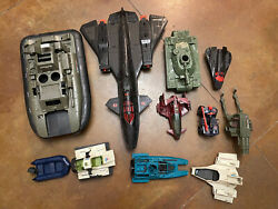 Gi Joe Vintage Vehicles Lot 1984 And Up See Pictures