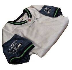 Vintage 2006 Authentic Seattle Seahawks Practice Jersey Blank Size 44 8 Inch Lb