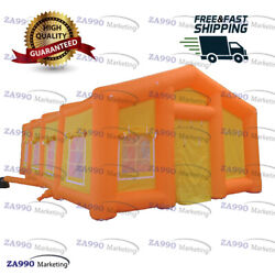 33x20ft Inflatable Event Tent For Outdoor Party Booth Marquee With Air Blower