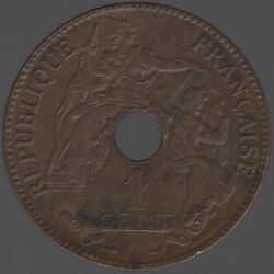 1900 French Indochina Cent | World Coins | Pennes2pounds