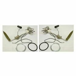 New Set Of 2 Fuel Sending Units, Gas Level For 1980-1991 Chevy And Gmc C/k