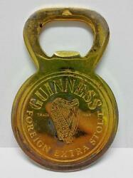 Vintage Guinness Foreign Extra Stout Beer Bottle Promo Opener B359