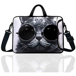 10-inch Laptop Shoulder Bag Sleeve Case With Padded Handle 9.6andrdquo 9.7andquot