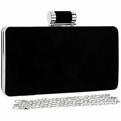 Selighting Elegant Velvet Clutch Evening Bags Women Formal Wedding Party Purse $29.92