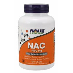 Now Foods Nac 1000 Mg - 120 Tablets Fresh Free Shipping Made In Usa