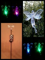 Solar Stake Garden Light Angel Fairy Brand New With Tags Beautiful Only 2 Left