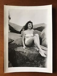 10 Vintage Photos Bathing Beauties Coney Island 1951 With Negatives