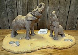 Martha Carey Marty The Herd Elephants Hoot And Holler With Display