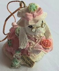 Sadie Paws Ornament - The Patchville Bunnies Collection - Mrs Santa Paws 01035